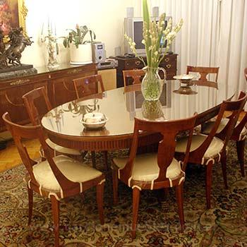 Mesas de comedor for Comedor en frances