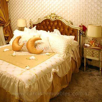 Dormitorio estilo franc s for Juego de dormitorio luis xvi