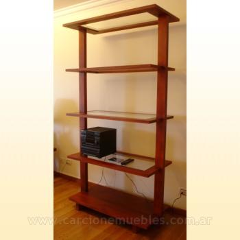 Muebles modernos h ctor carcione e hijo ebanister a for Bibliotecas muebles modernos